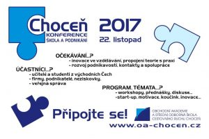 """Konference """"Choceň - Škola a podnikání"""""""